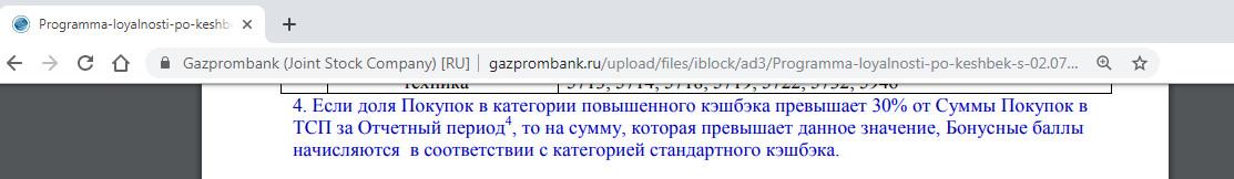 Правила возврата денег за покупки на АЗС по картам Газпромбанка